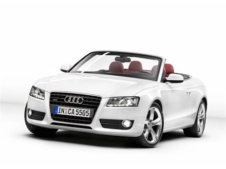 Audi A5 Convertible 2010. 2010 Audi A5 and 2010 Audi S5